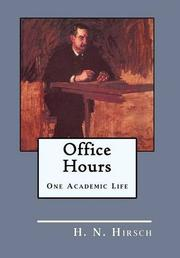 Office Hours by H.N. Hirsch