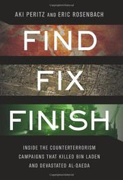 FIND, FIX, FINISH by Aki Peritz