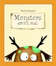 Cover art for MONSTERS AREN'T REAL