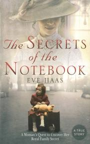 THE SECRETS OF THE NOTEBOOK by Eve Haas