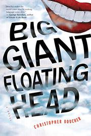 BIG GIANT FLOATING HEAD by Christopher Boucher