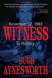 NOVEMBER 22, 1963 by Hugh Aynesworth