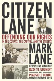 Book Cover for CITIZEN LANE