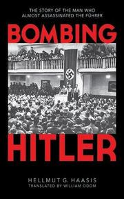 Cover art for BOMBING HITLER