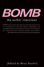 BOMB by Betsy Sussler