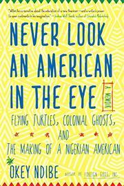 NEVER LOOK AN AMERICAN IN THE EYE by Okey Ndibe