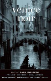 Cover art for VENICE NOIR
