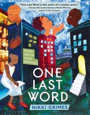 ONE LAST WORD by Nikki Grimes