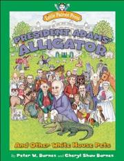 Cover art for PRESIDENT ADAMS' ALLIGATOR