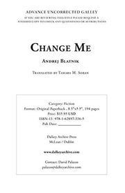 CHANGE ME by Andrej Blatnik
