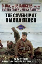 THE COVER-UP AT OMAHA BEACH by Gary Sterne
