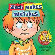 ZACH MAKES MISTAKES by William  Mulcahy