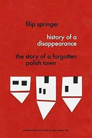 HISTORY OF A DISAPPEARANCE by Filip  Springer