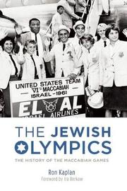 THE JEWISH OLYMPICS by Ron Kaplan
