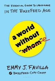"A WORLD WITHOUT ""WHOM"" by Emmy J.  Favilla"