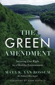 THE GREEN AMENDMENT by Maya K.  van Rossum