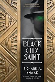BLACK CITY SAINT by Richard A. Knaak