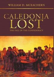 CALEDONIA LOST by William D. McEachern