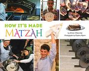 MATZAH by Allison Ofanansky