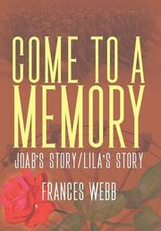 Come to a Memory by Frances Webb