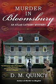 MURDER IN BLOOMSBURY by D.M.  Quincy
