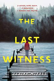 THE LAST WITNESS by Claire McFall