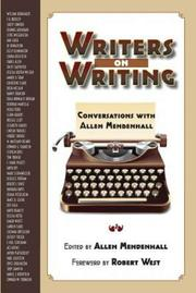 WRITERS ON WRITING by Allen  Mendenhall