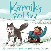KAMIK'S FIRST SLED by Matilda Sulurayok