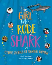 THE GIRL WHO RODE A SHARK by Ailsa Ross