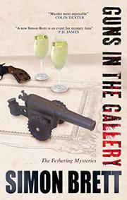 GUNS IN THE GALLERY by Simon Brett