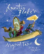 Cover art for QUENTIN BLAKE'S MAGICAL TALES