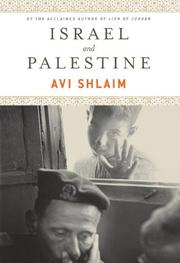ISRAEL AND PALESTINE by Avi Shlaim