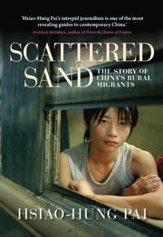 Book Cover for SCATTERED SAND