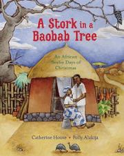 A STORK IN A BAOBAB TREE by Polly Alakija