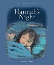 HANNAH'S NIGHT by Komako Sakai