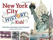 Book Cover for NEW YORK CITY HISTORY FOR KIDS