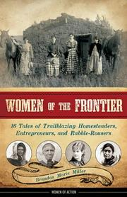 Cover art for WOMEN OF THE FRONTIER