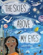 THE SKIES ABOVE MY EYES by Charlotte  Guillain