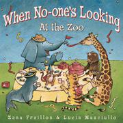 Cover art for WHEN NO-ONE'S LOOKING AT THE ZOO