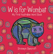 Book Cover for W IS FOR WOMBAT