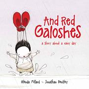 Cover art for AND RED GALOSHES