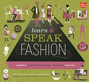 Book Cover for LEARN TO SPEAK FASHION