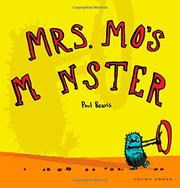 MRS. MO'S MONSTER by Paul Beavis