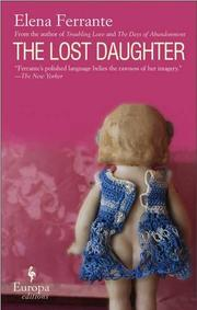 THE LOST DAUGHTER by Elena Ferrante
