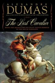 THE LAST CAVALIER by Alexandre Dumas