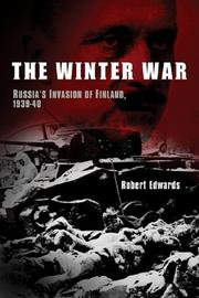 THE WINTER WAR by Robert Edwards