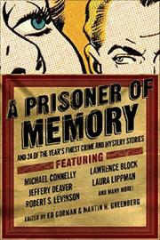 A PRISONER OF MEMORY by Ed Gorman