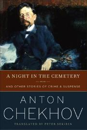 A NIGHT IN THE CEMETERY by Anton Chekhov