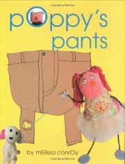 POPPY'S PANTS by Melissa Conroy