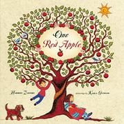 ONE RED APPLE by Harriet Ziefert